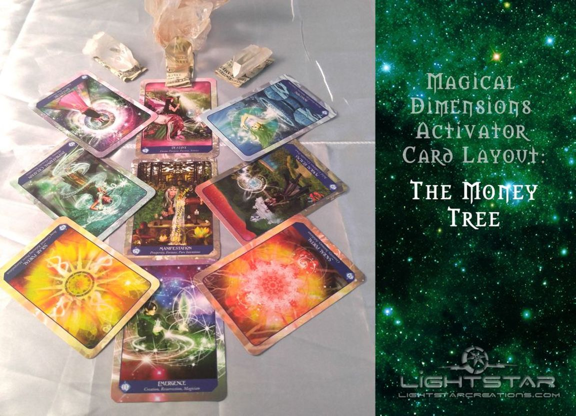 Lightstar Magical Dimensions Oracle Cards & Activators
